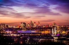 Ciudad parque de Londres, Greenwich Imágenes de archivo libres de regalías