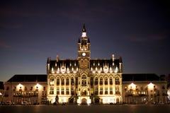 Ciudad-pasillo de Sint-Niklaas imagenes de archivo