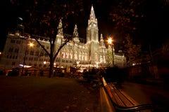 Ciudad-pasillo de Wien Fotos de archivo