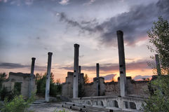Ciudad perdida Imágenes de archivo libres de regalías