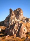 Ciudad perdida en Cappadocia Imagenes de archivo