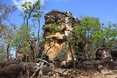 Ciudad perdida, parque nacional de Litchfield, Territorio del Norte, Australia Fotografía de archivo
