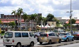 Ciudad pintoresca de Port Louis en Mauritius Republic Fotos de archivo libres de regalías
