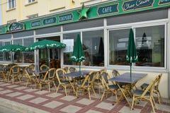 Ciudad pintoresca de Stella Plage en el Pas de Calais de Nord Imagen de archivo