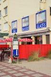 Ciudad pintoresca de Stella Plage en el Pas de Calais de Nord Fotos de archivo