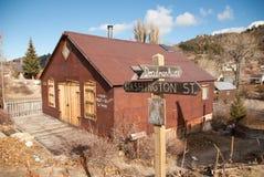 Ciudad plateada, Idaho imágenes de archivo libres de regalías