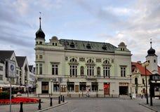 Ciudad Podebrady Imágenes de archivo libres de regalías
