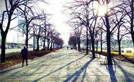 Ciudad Polonia de Varsovia Imagen de archivo libre de regalías