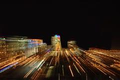 Ciudad por noche Foto de archivo
