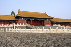 Ciudad prohibida China Imagenes de archivo