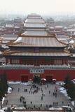 Ciudad prohibida en Pekín Imágenes de archivo libres de regalías