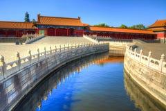 Ciudad prohibida en Pekín, China fotografía de archivo
