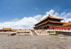 Ciudad prohibida Pekín imagen de archivo