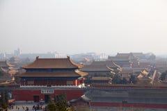 Ciudad prohibida Pekín Imagen de archivo libre de regalías