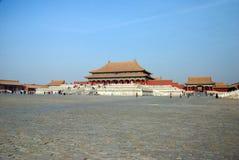 Ciudad prohibida, Pekín fotos de archivo