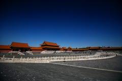 Ciudad prohibida, Pekín China Fotos de archivo libres de regalías