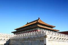 Ciudad prohibida, Pekín China Imagen de archivo