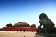 Ciudad prohibida, Pekín China Fotografía de archivo libre de regalías