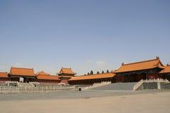 Ciudad prohibida - Pekín - China Imagenes de archivo