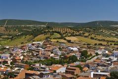 Ciudad Real. Horcajo de los Montes, near of Cabaneros National Park.  Ciudad Real Royalty Free Stock Photos