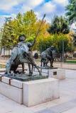 Ciudad Real, La Mancha, Espagne de Castille photos libres de droits
