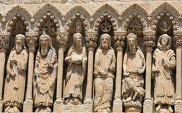 Ciudad Rodrigo Cathedral Stockbild