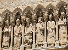 Ciudad Rodrigo Cathedral Stockbilder