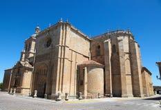 Ciudad Rodrigo. Facade of the Capilla de Cerralbo (16th Century) in Ciudad Rodrigo, a small cathedral city in the province of Salamanca, Spain Stock Images