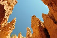 Ciudad roja de la roca Fotografía de archivo libre de regalías