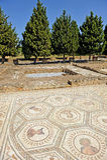 Ciudad romana de Italica, la casa del planetario, Andalucía, España Imágenes de archivo libres de regalías