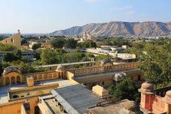 Ciudad rosada, Jaipur Imagenes de archivo
