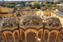 Ciudad rosada, Jaipur Ver Fotografía de archivo