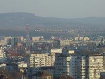 Ciudad rumana imagen de archivo