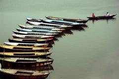 Ciudad santa Benaras en la India Fotografía de archivo libre de regalías