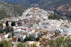 Ciudad santa de Moulay Idris fotografía de archivo libre de regalías