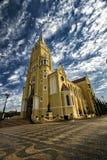 Ciudad Santa Rita Do Passa Quatro, São Pablo, el Brasil - ciudad Santa Rita Do Passa Quatro, São Pablo, el Brasil de la catedra fotografía de archivo libre de regalías