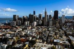 Ciudad Scape de San Francisco Imagen de archivo libre de regalías