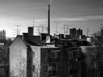 Ciudad Scape Zagreb Fotos de archivo