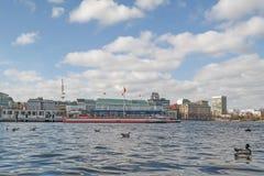 Ciudad Scenics de Hamburgo foto de archivo