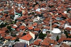 Ciudad serbia vieja Prizren Imágenes de archivo libres de regalías