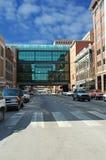 Ciudad Skywalk Imagenes de archivo