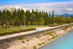 Ciudad Sochi del territorio de Krasnodar Imágenes de archivo libres de regalías