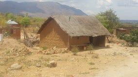 Ciudad Tanzania de Mbeya Foto de archivo