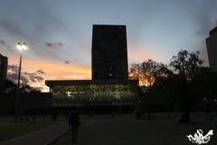 Ciudad Universitaria 免版税图库摄影