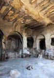 ciudad Uplistsikhe de la cueva de 3.000 y.o. Georgia. Imagenes de archivo