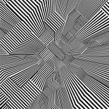 Ciudad urbana abstracta del vector de las rayas de los rascacielos stock de ilustración