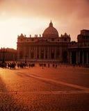 Ciudad Vaticano de Vaticna Imagen de archivo libre de regalías