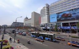 Ciudad vibrante de Pekín, China Imagenes de archivo