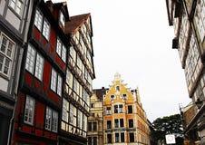 Ciudad vieja, Alemania, calle, fachada Fotos de archivo libres de regalías