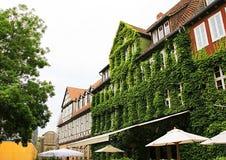 Ciudad vieja, Alemania, calle, fachada Fotografía de archivo libre de regalías